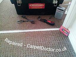 Tamworth carpet repair service