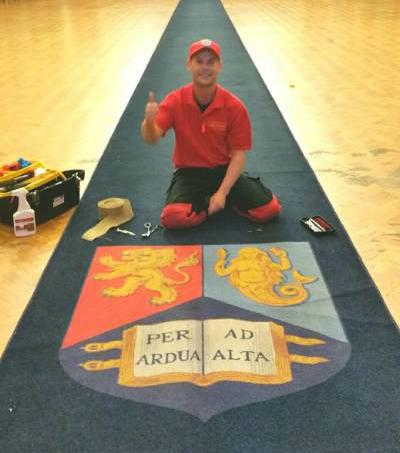 Commercial carpet repair Birmingham.