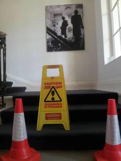 Commercial carpet repair London.